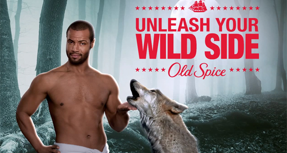 How do you sell smells - Old Spice