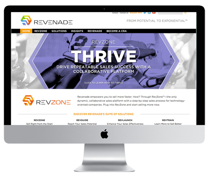 Revenade Website