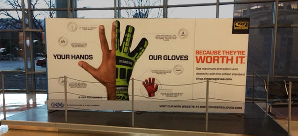 Ringers Gloves Billboard