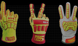 Ringers Gloves ads