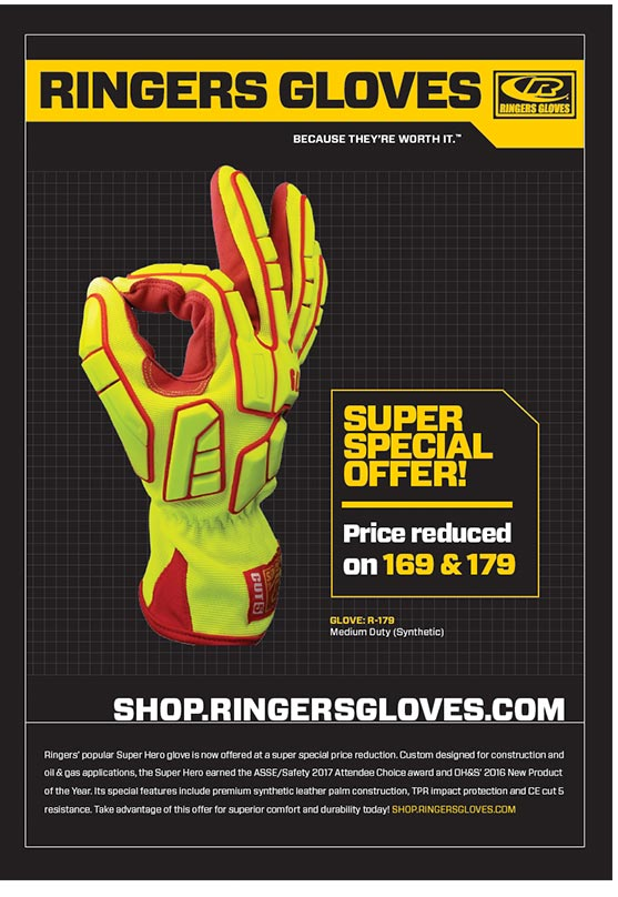 Ringers Gloves Ad Campaign