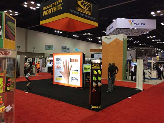 Ringers Gloves Tradeshow