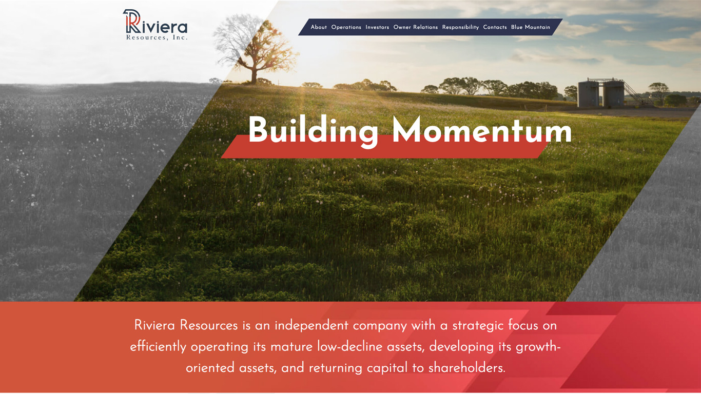 Riviera Resources Website