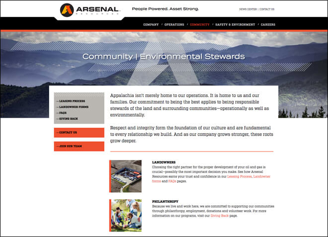 Arsenal Resources Website