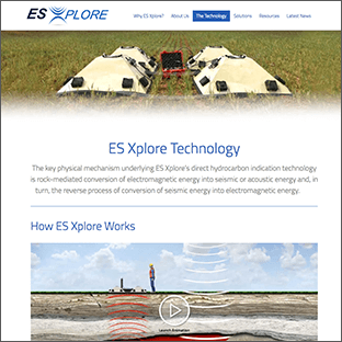 ES Xplore Website