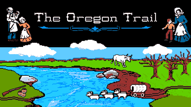 The Oregon trail game playable online websites to waste time on