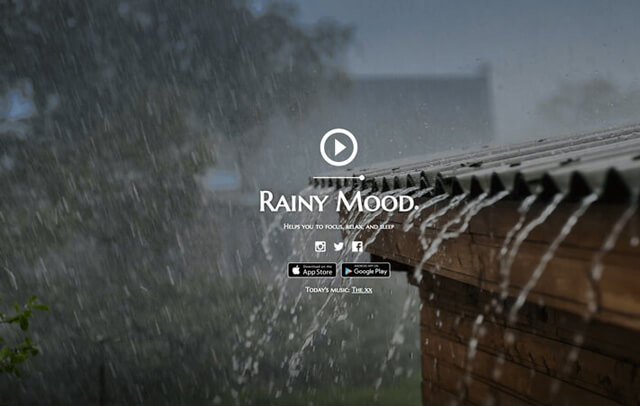 rainy mood websites to waste time on