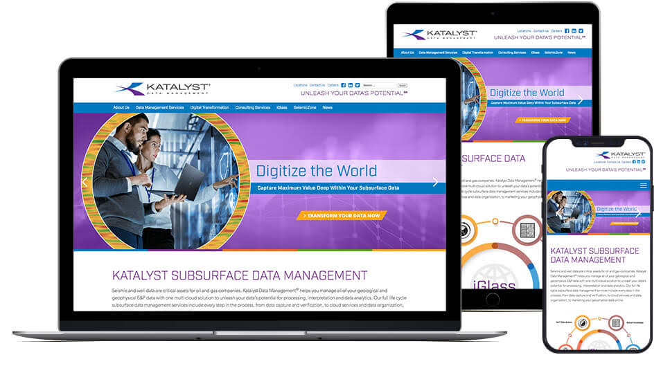 Katalyst Data Management Website