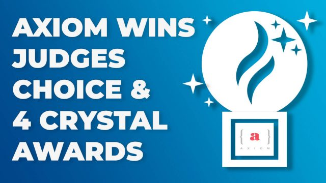 axiom wins judges choice ama award